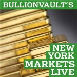 New York Markets Live with Miguel Perez-Santalla, Vice President, BullionVault, on BlogTalk Radio twice a week
